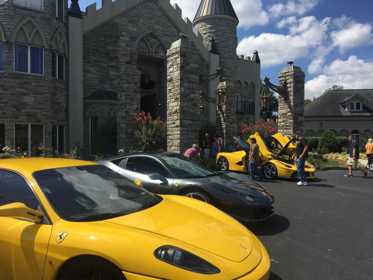 Cars at the Castle-01