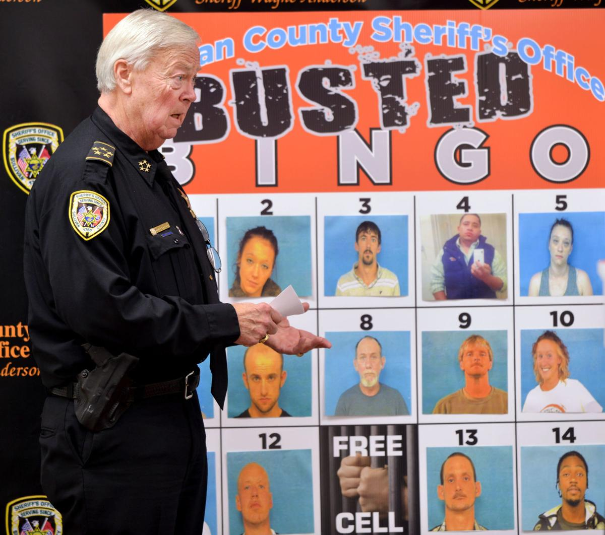 Busted Bingo' new effort to serve arrest warrants | News