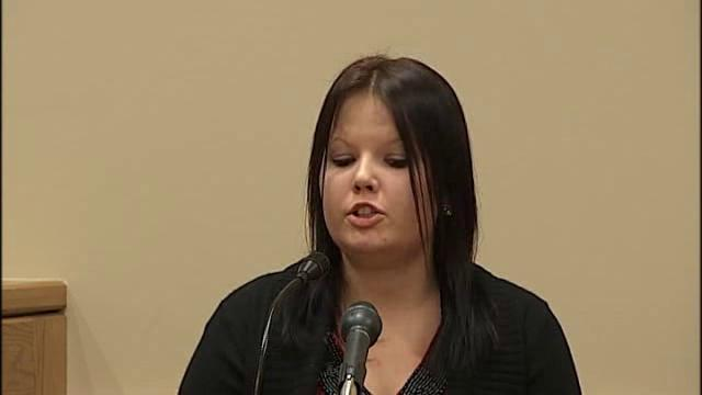 Larkin's stepdaughter takes stand, says he acted strange after