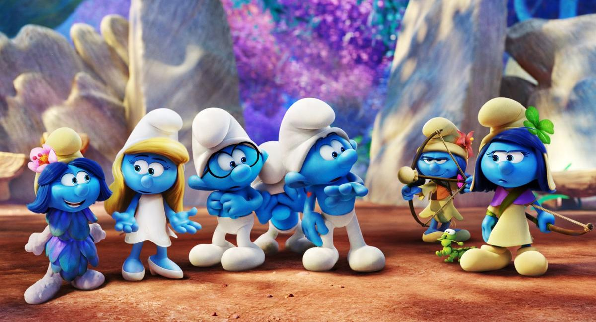 smurfs the lost village is a kitschy psychedelic trip to nowhere