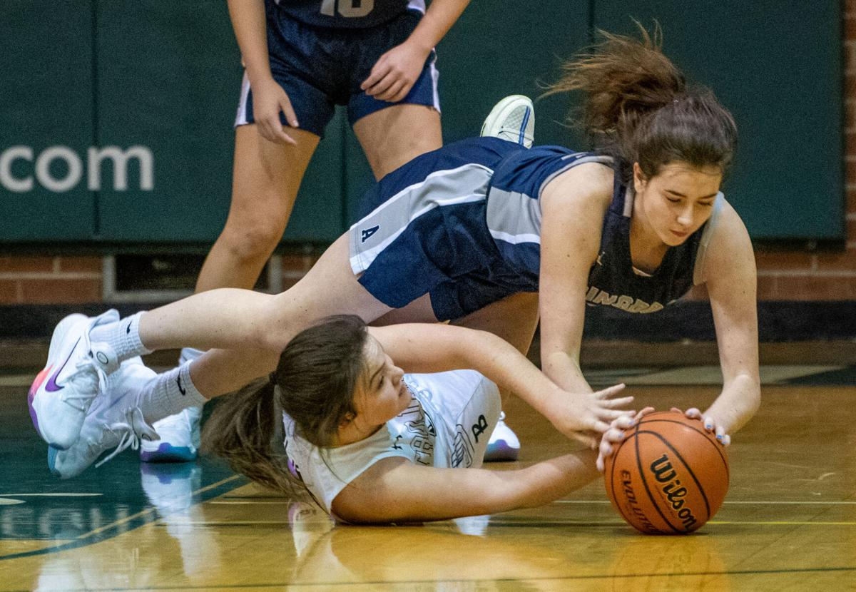 John Battle vs Abingdon Girls Basketball