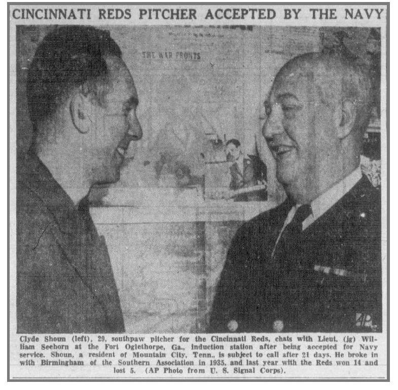Clyde Shoun Navy
