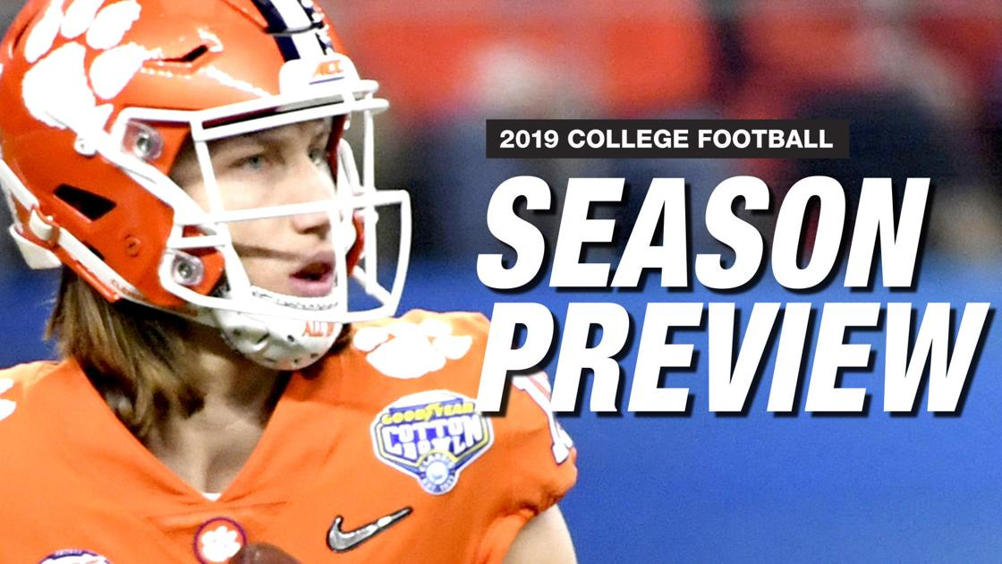 2019 NCAA Football Preview: Everything you need to know before the season opens
