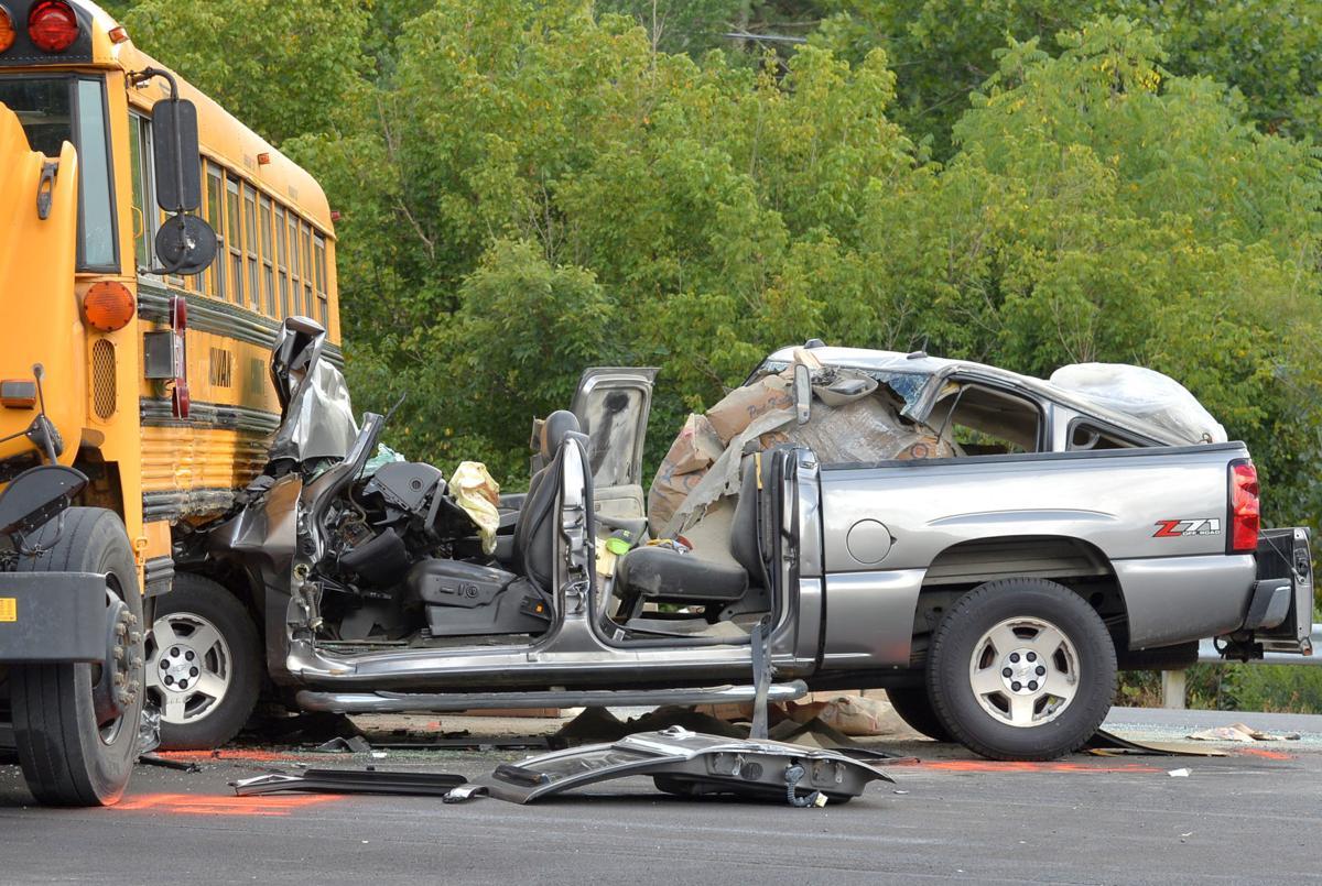 One injured in truck, school bus crash | News