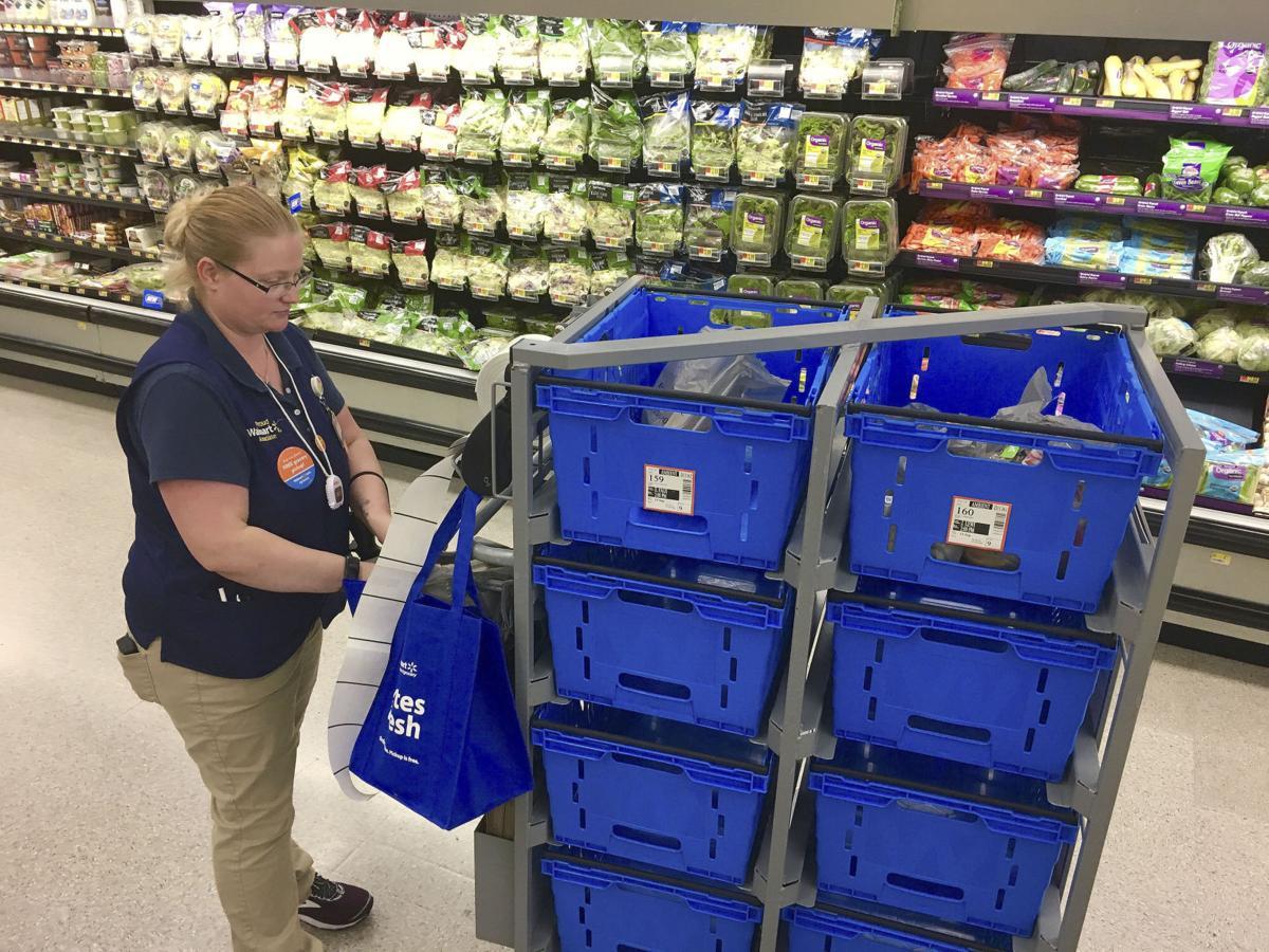 Walmart in Bristol initiates grocery pickup service | News