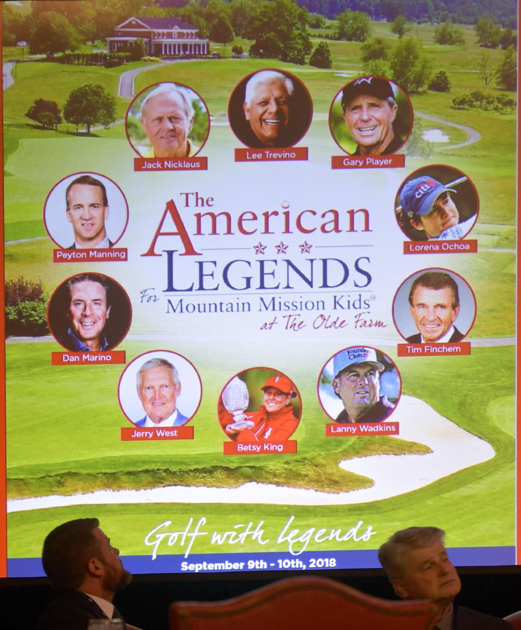The American Legends for Mountain Mission Kids at The Olde Farm