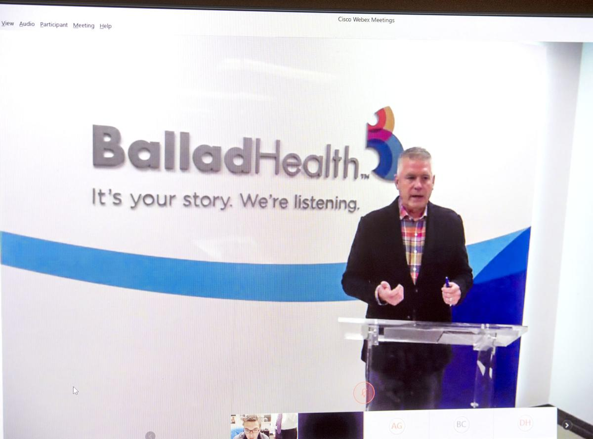 COVID-19 Ballad Health Video Conference