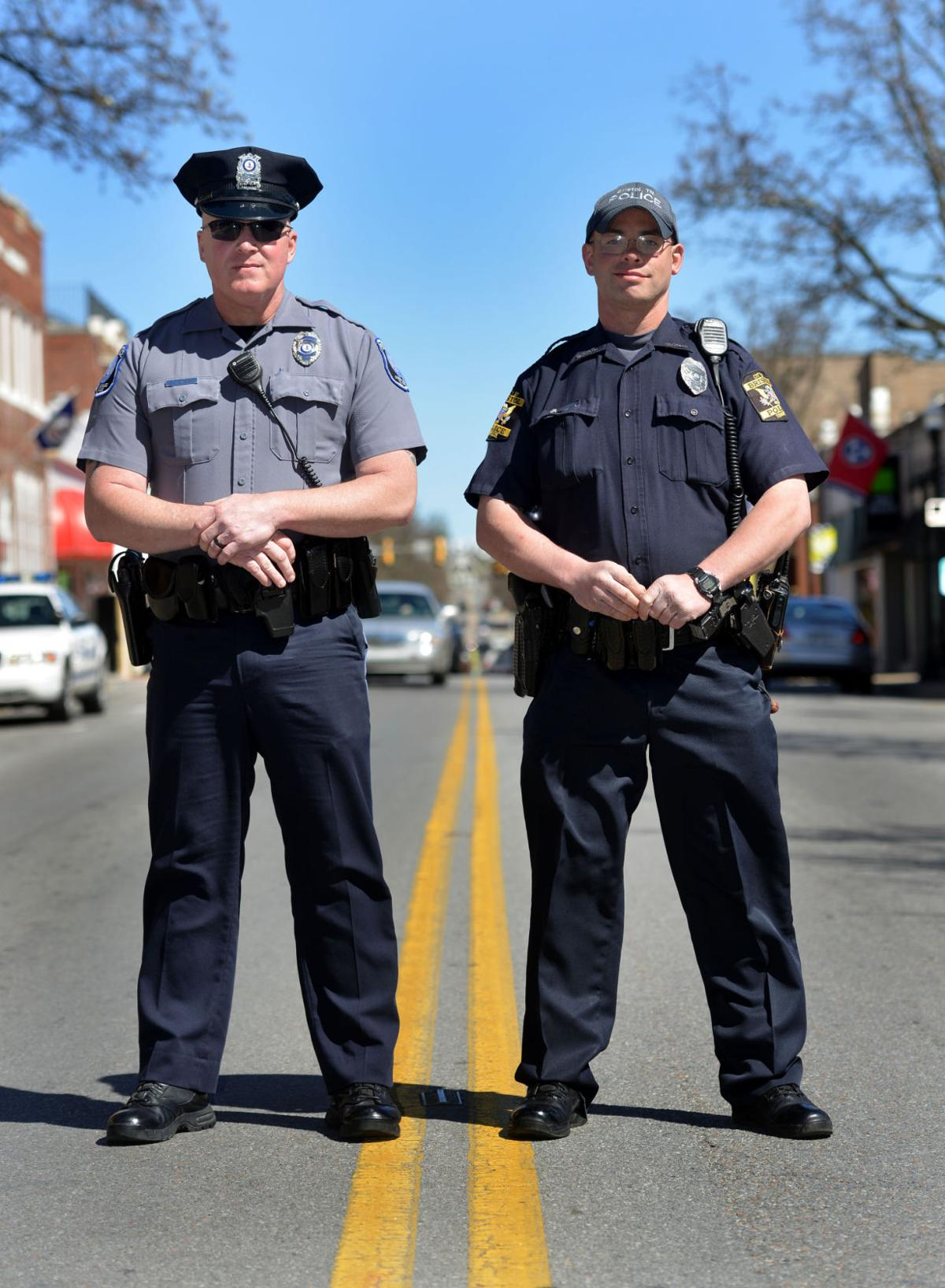 Full-time officers now patrol Bristol downtown on both sides