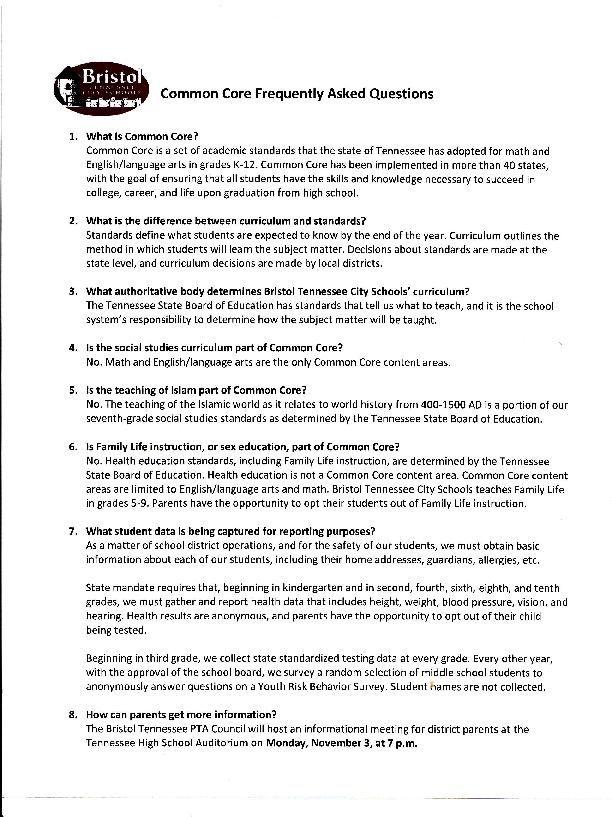 Bristol TN Common Core 1 pdf     heraldcourier com