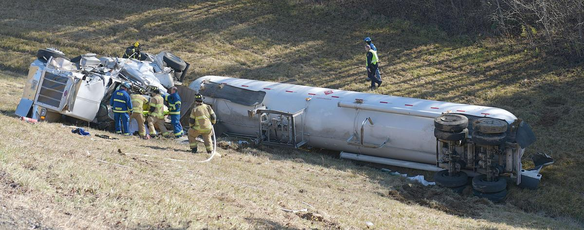 Update: Interstate 81 is now being opened to traffic after mid