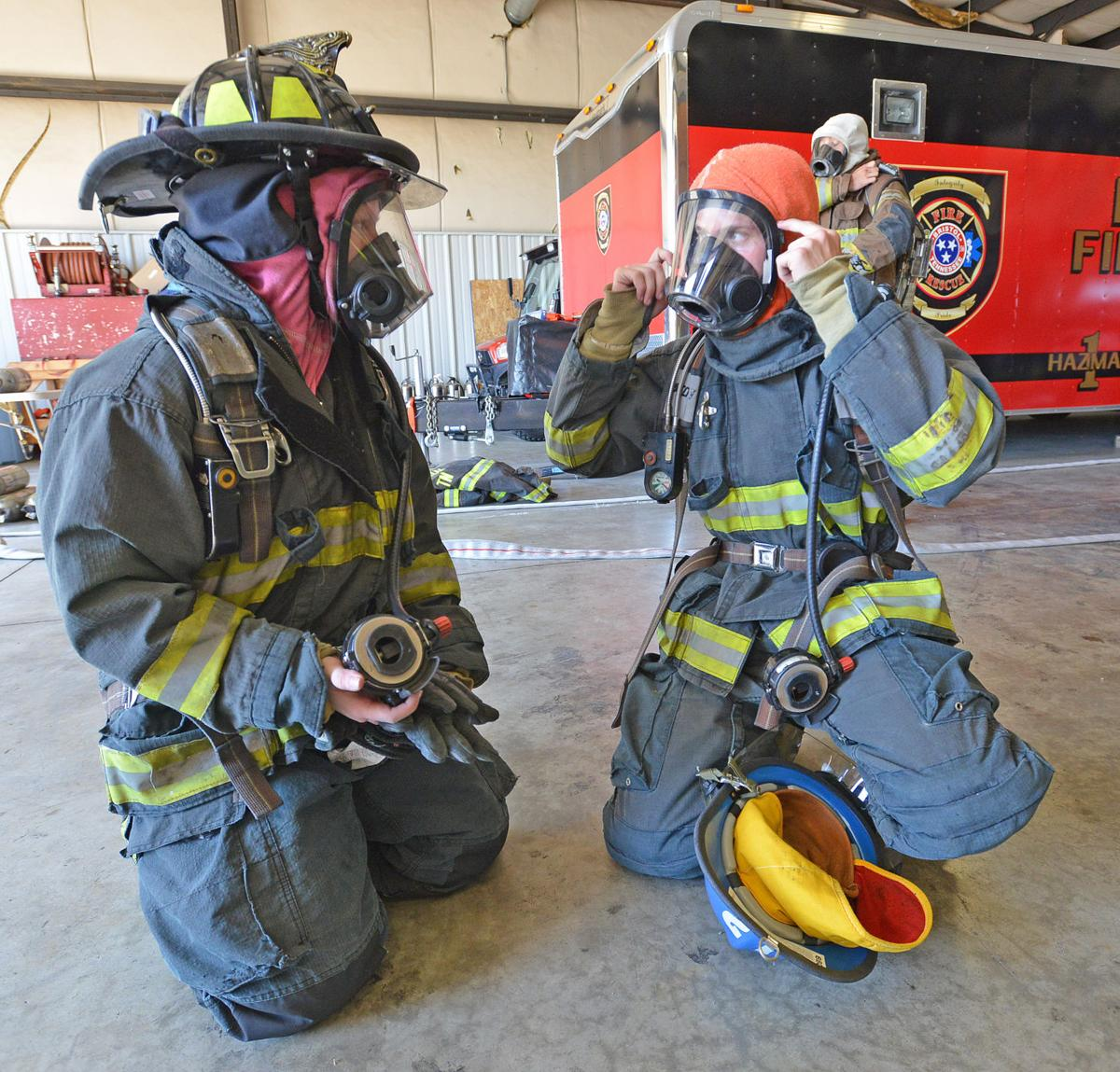9 Rookie Firefighters Prepare For Service In Bristol Tennessee