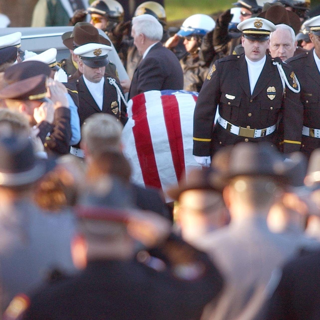 More than 100 officers from region have died in line of duty