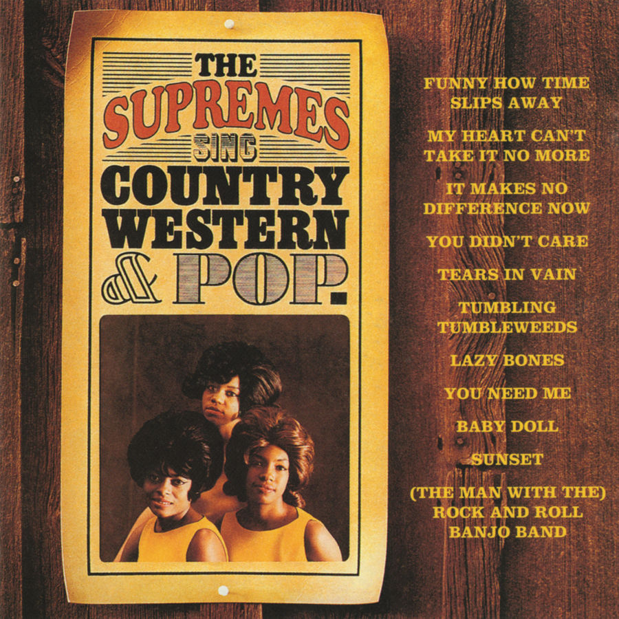 The Supremes Sing Country Western Color them