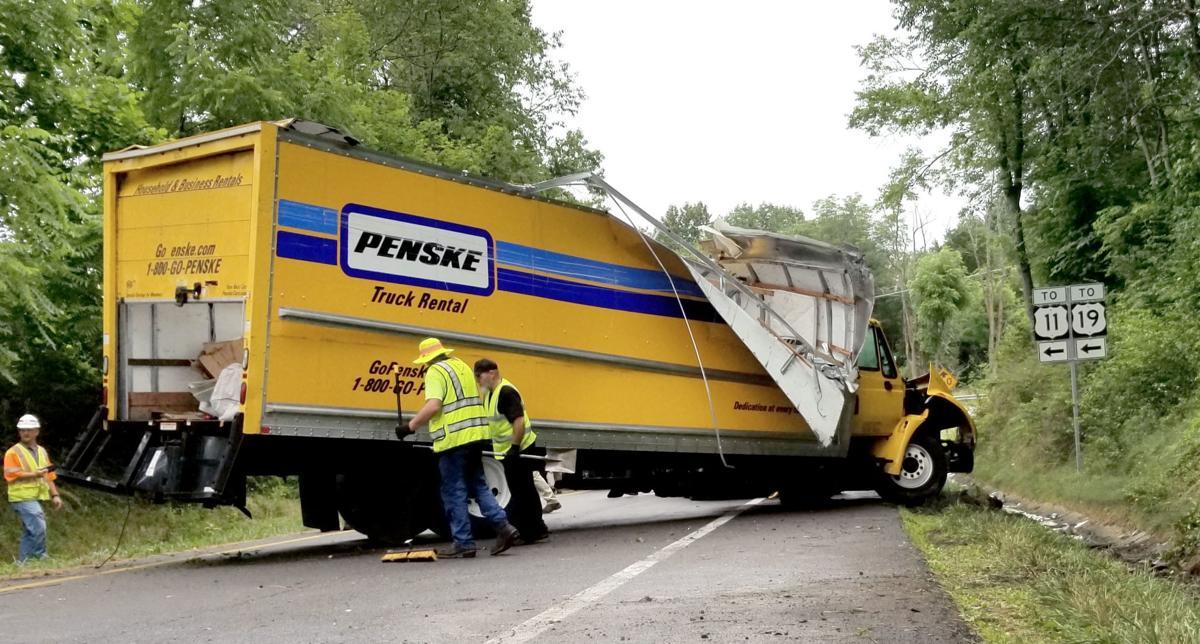 Single-vehicle crash on Interstate 81's Exit 13 injures 1 on Monday