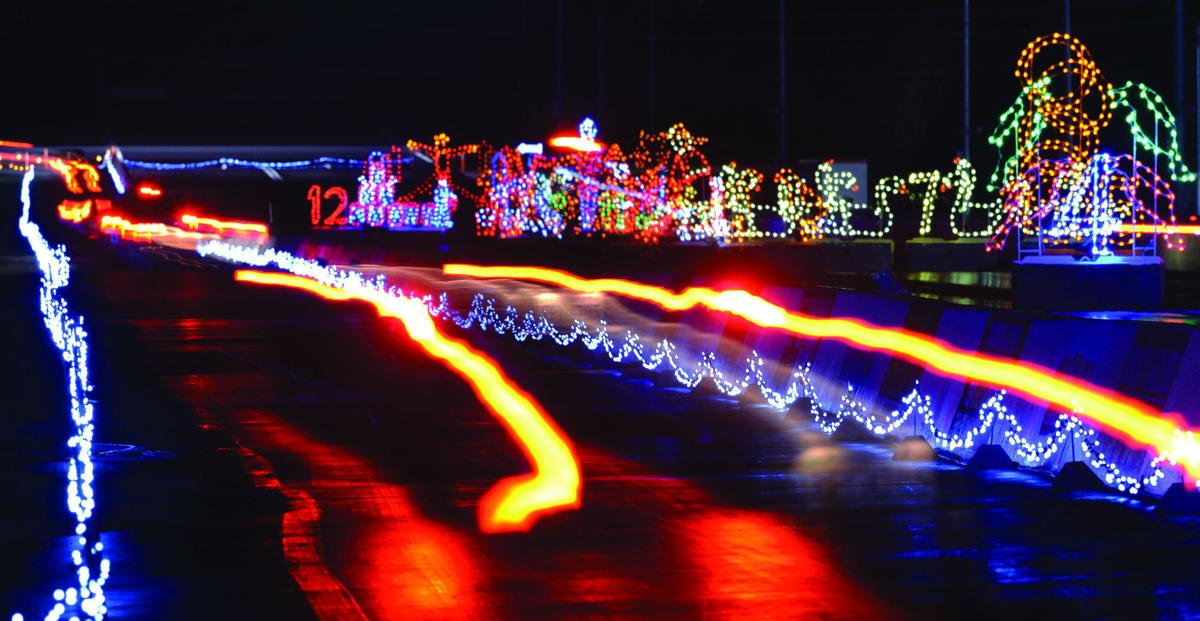 Bristol Motor Speedway Christmas Lights 2020 Pieces of the Past: Speedway in Lights tradition spans 21 years