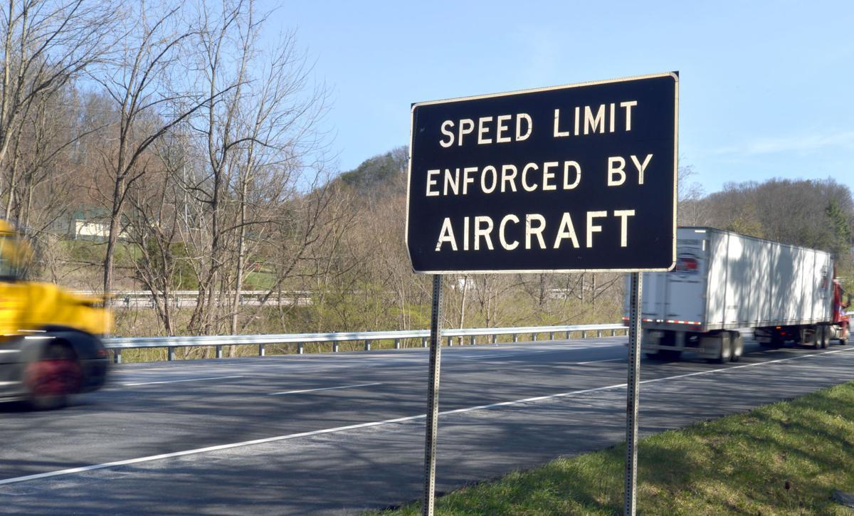 BHC 03172018 Interstate 81 Speed Sign