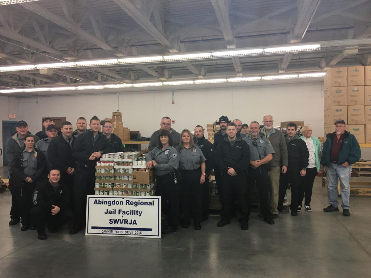 Southwest Va  Regional Jail officers donate 8,000 cans to