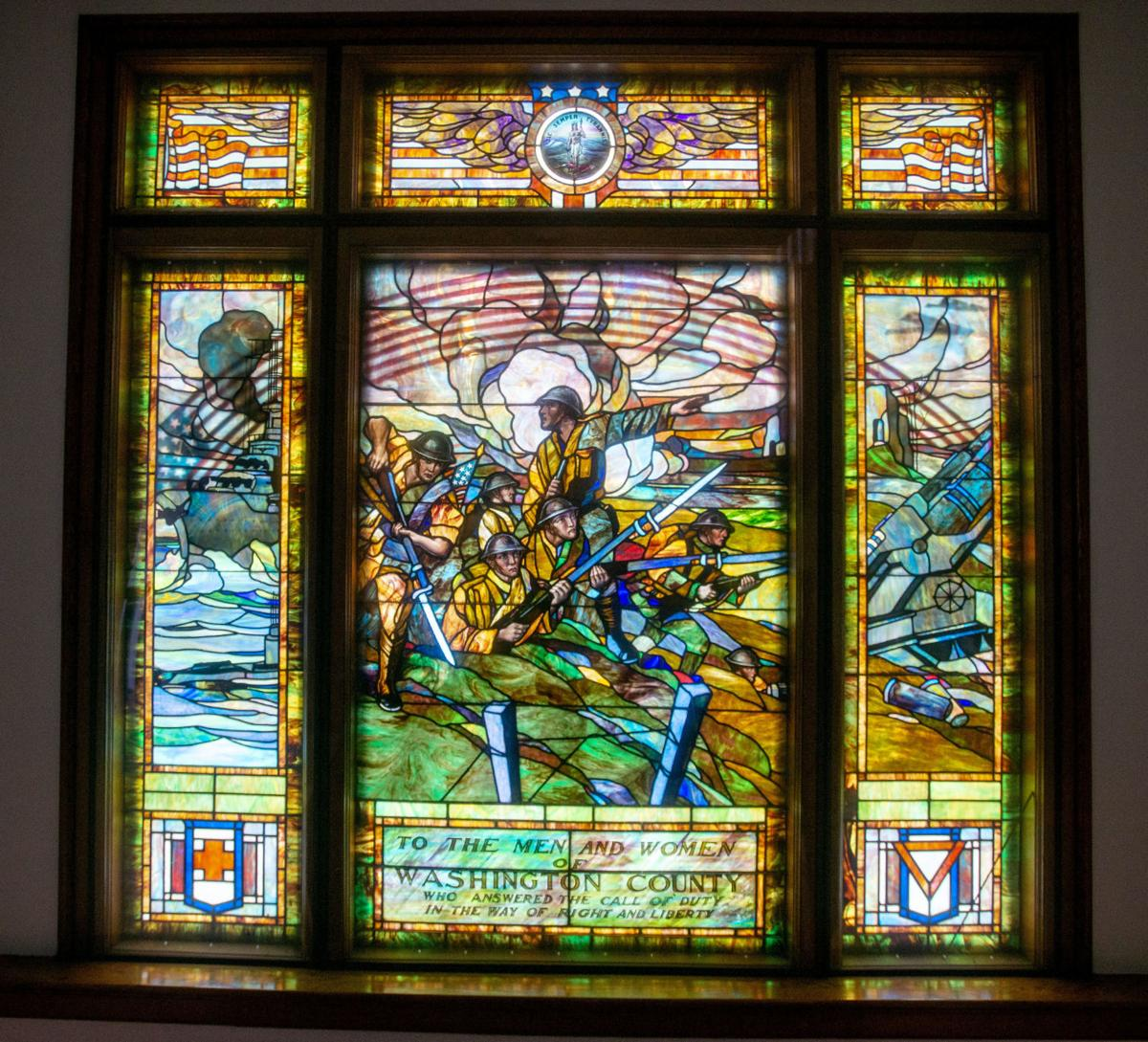 BHC 07272019 Wash Co Courthouse Stained Glass 01