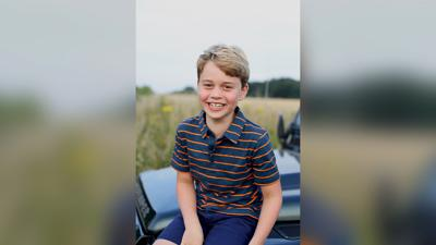New photograph of Prince George released ahead of his 8th birthday