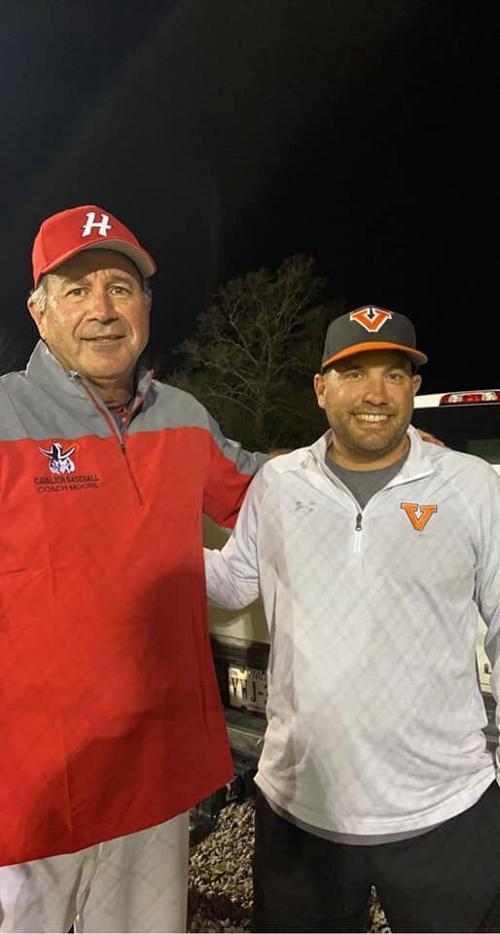 Holston baseball coach Bill Moore
