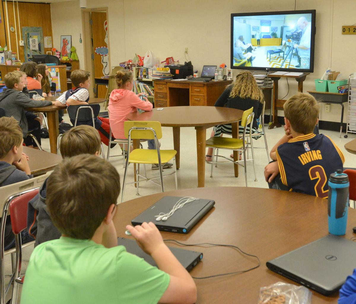 Bristol Elementary Students Pitch Products To Local 'Shark