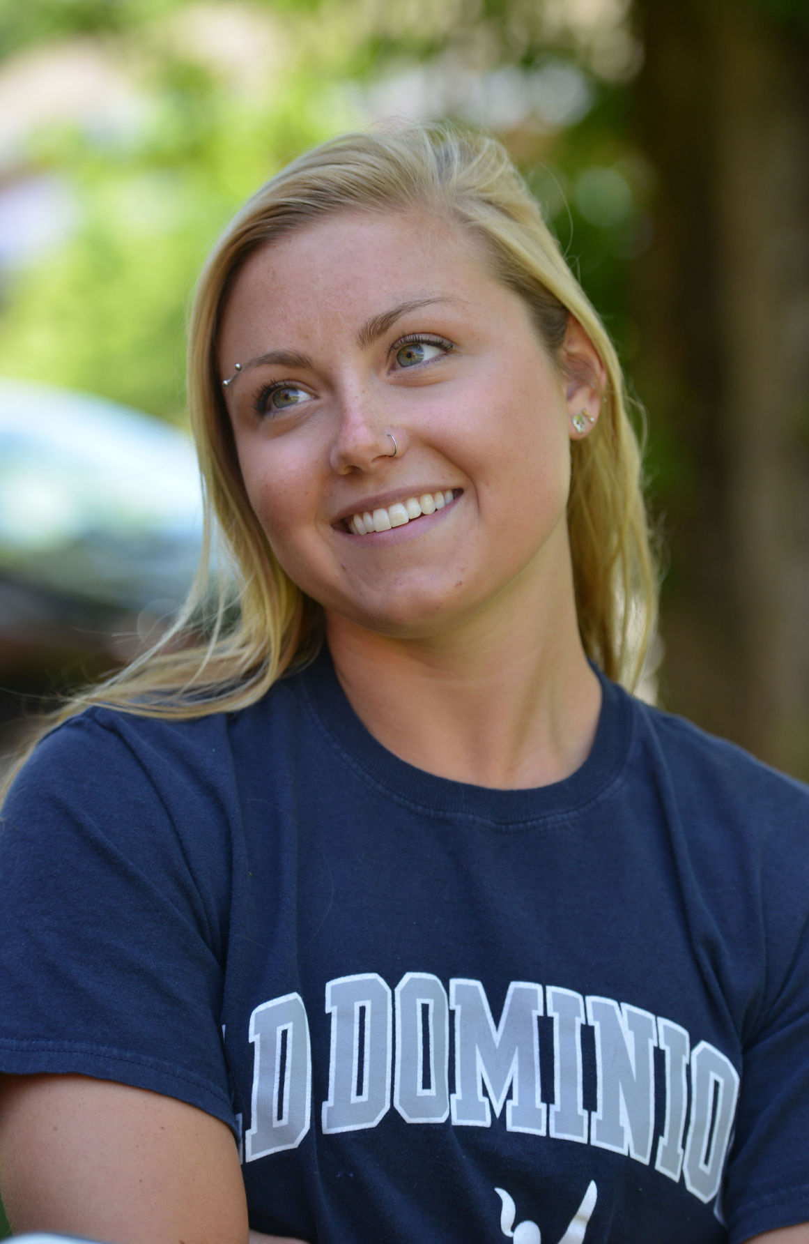 ODU Swimmer Morgan Johnson