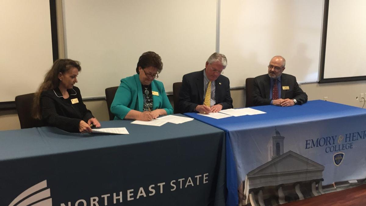 Eh Northeast State Sign Admission Agreement News Heraldcourier