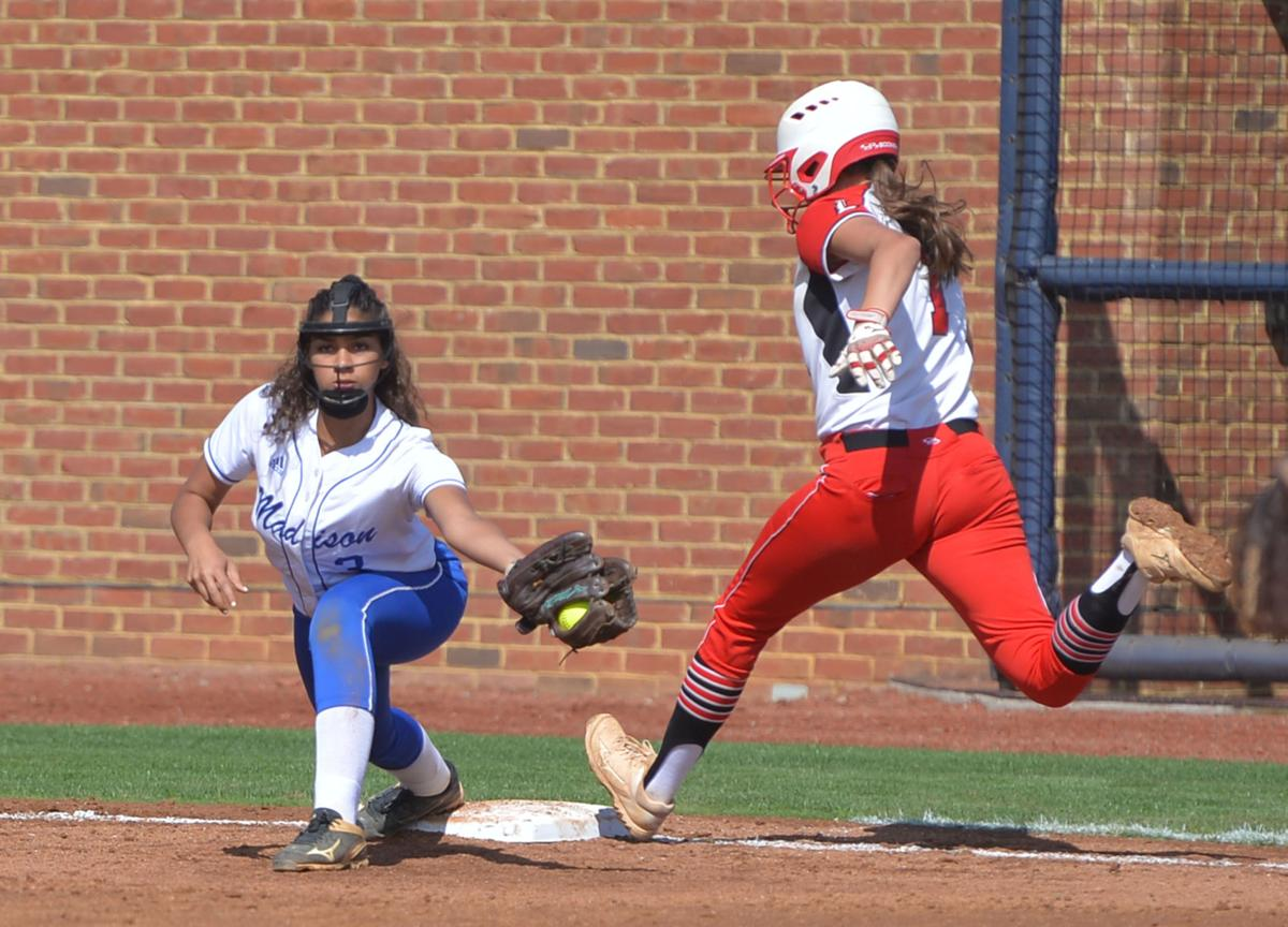 Madison County vs Lebanon Softball