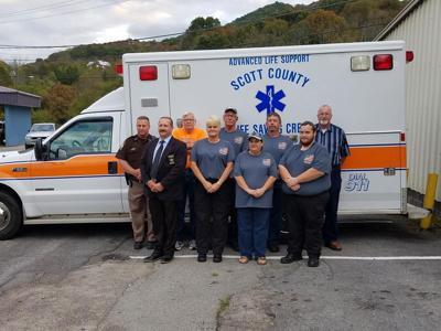 Scott County Sheriff's Office, Donated Ambulance