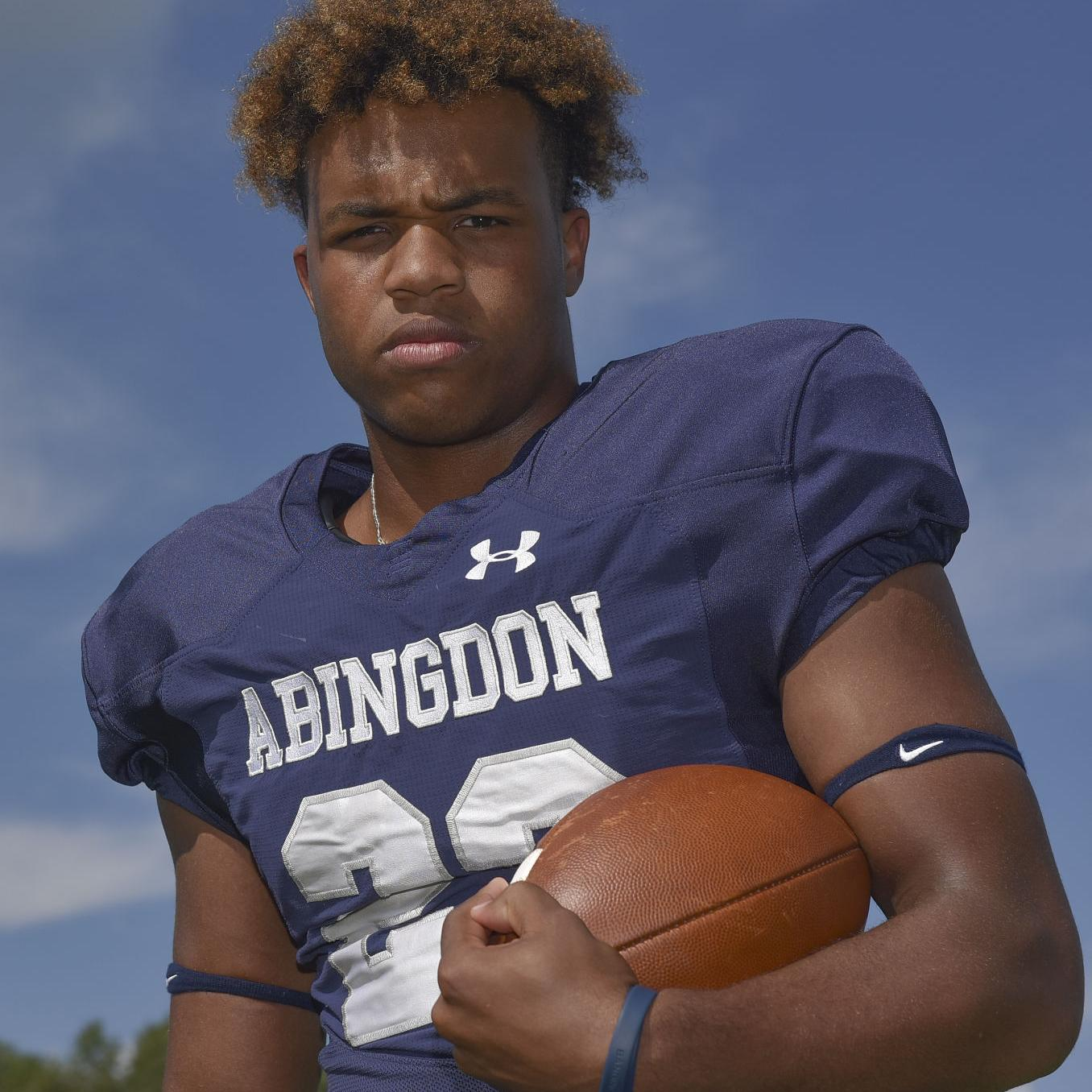 Family of Falcons: Abingdon's Lucas looks to break school marks held