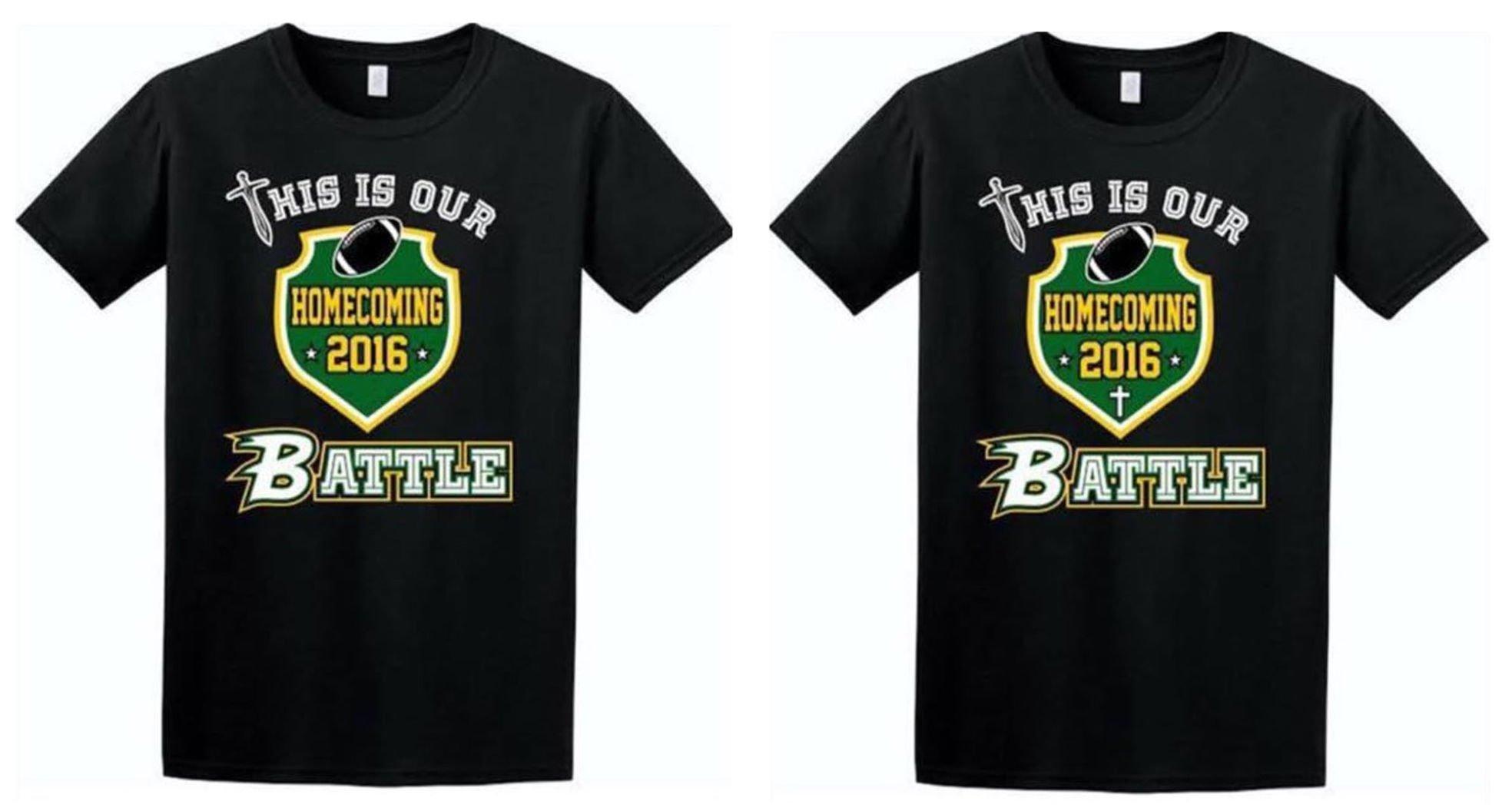 Controversy Surrounds Shirt Design For John S. Battleu0027s Homecoming