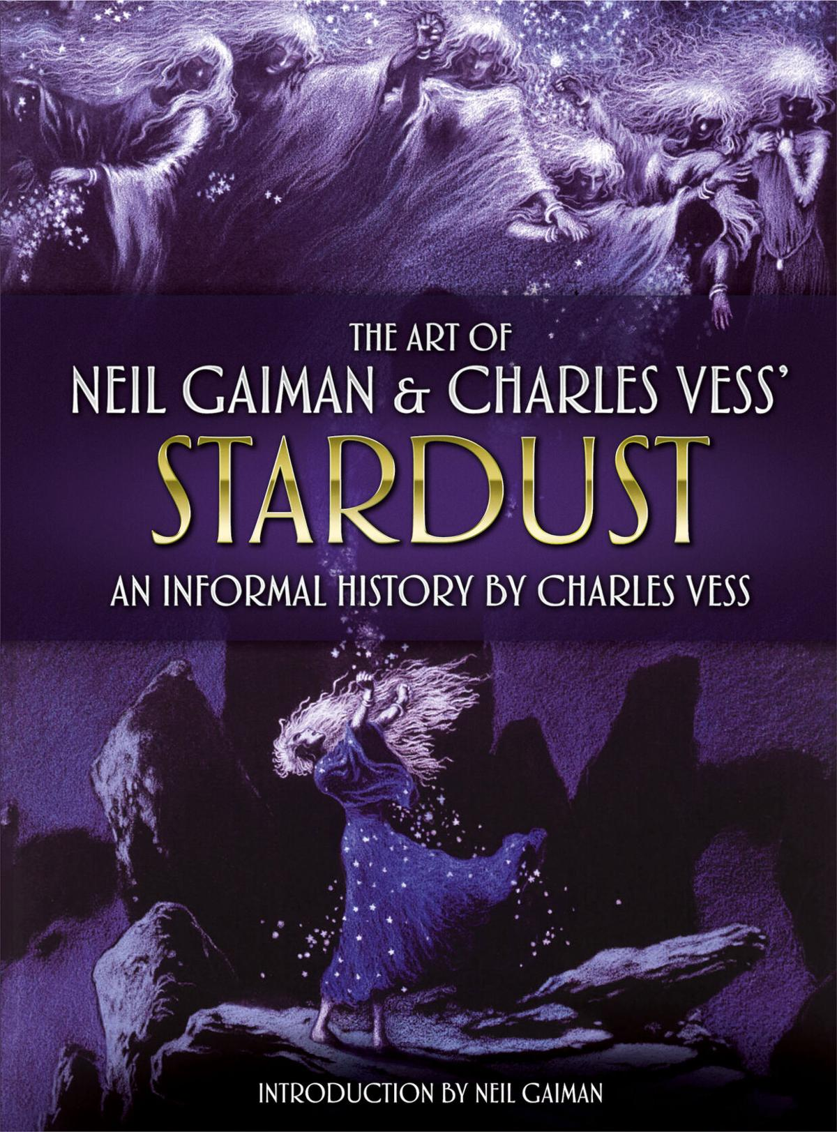Vess Stardust-cover art use