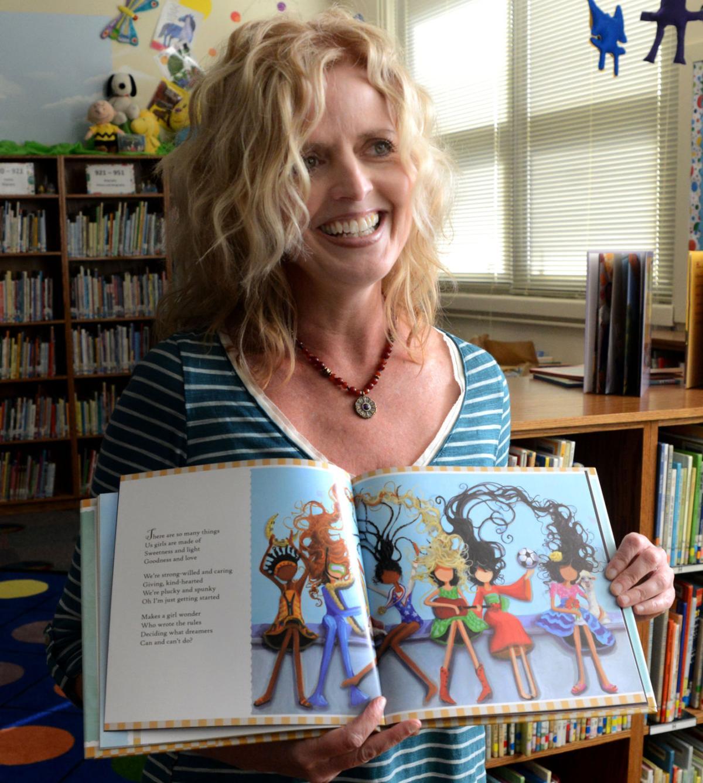Bristol Native Presents Her Book At Stonewall Jackson Elementary