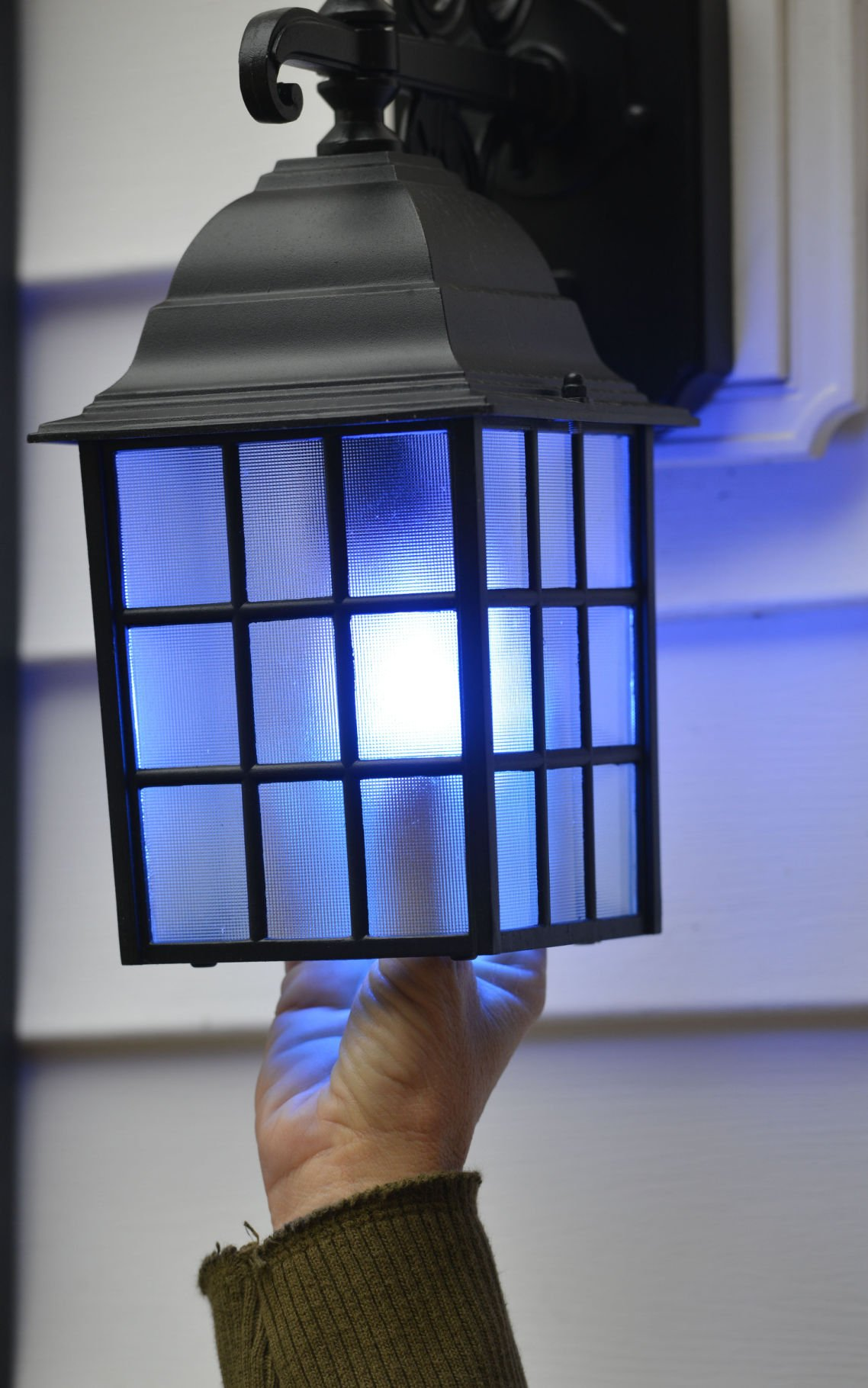 Area Residents Flipping Switches To Blue Porch Lights To