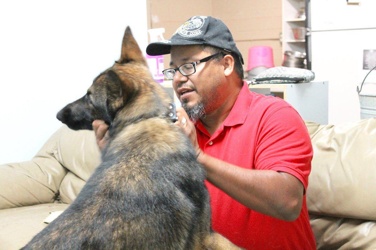Eddyville man is helped through American Legion PTSD dog