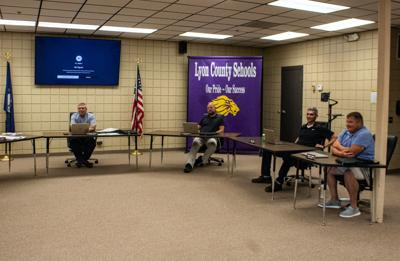 Lyon County Board of Education approves superintendent contract