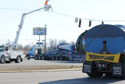 Superload expected to resume travel today