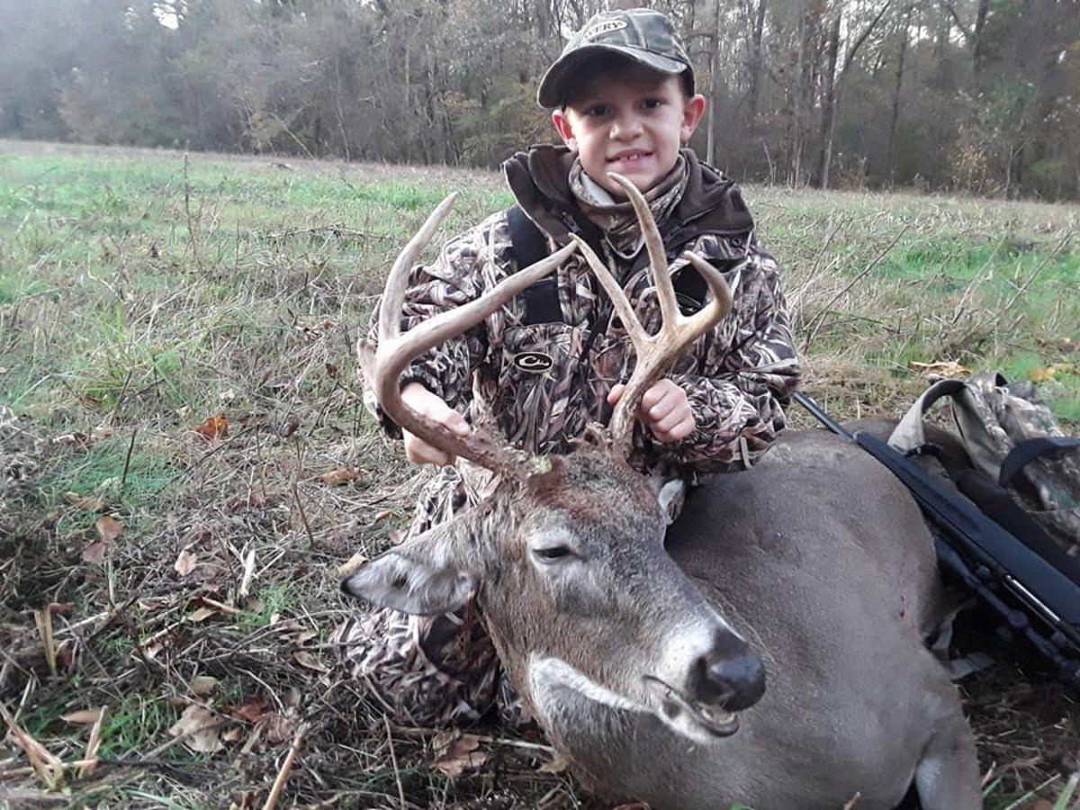 Local youth take trophies during deer season