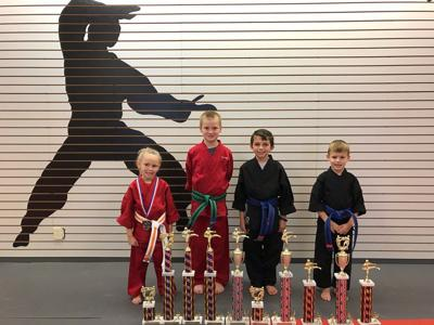 Allison's Karate students compete in Benton tournament