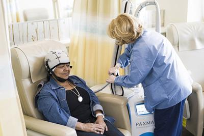 Baptist, Lourdes hospitals welcome tech to help chemo patients keep hair