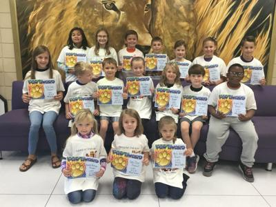 LCES Character Counts winners for respect
