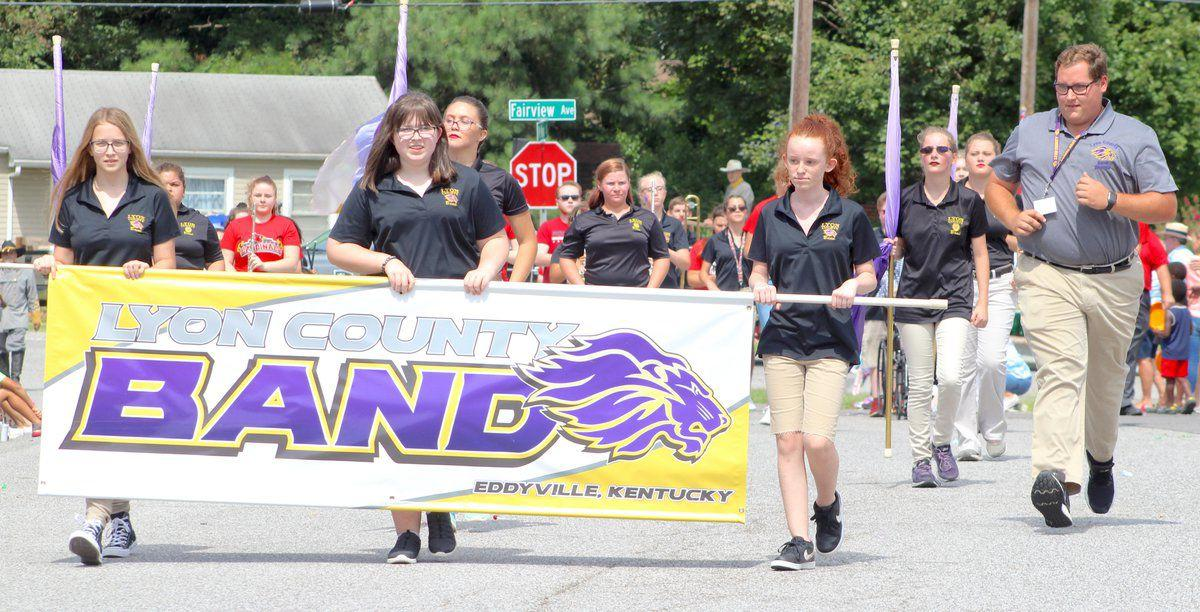 Lyon band students invited to march in Beshear's inaugural parade Dec. 10