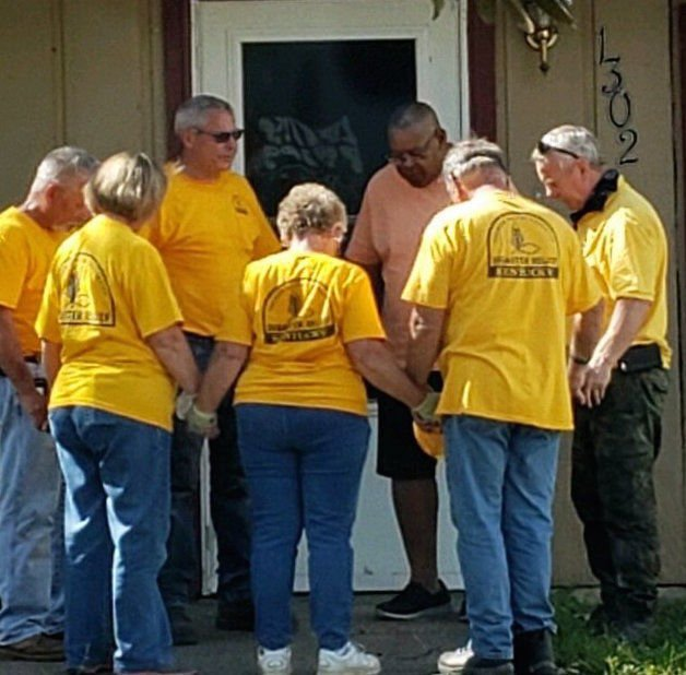 Disaster Relief volunteer glad to be serving again - photo 1
