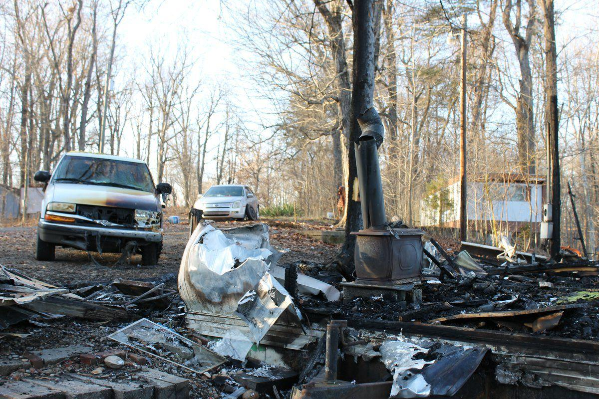 Local family loses everything to fire
