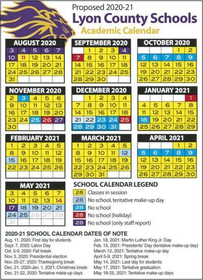 Board of ed OKs 2020-21 calendar