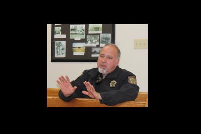 Sheriff Brent White talks
