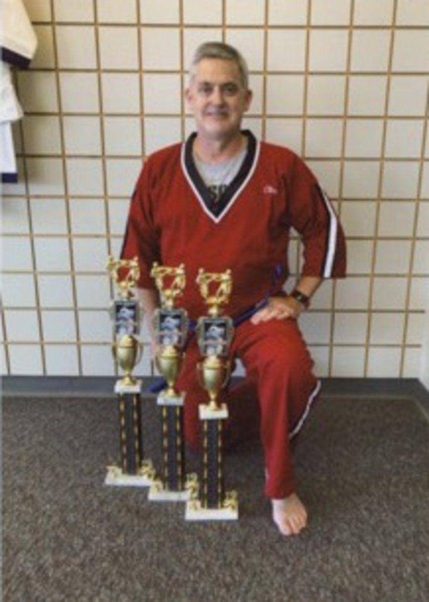 Karate students sweep Lexington tournament