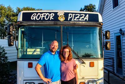 Rolling in dough: Eddyville residents start pizza food truck business