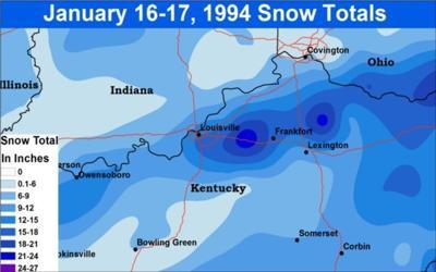 1994 Kentucky snowstorm