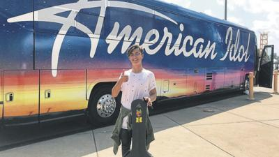 Teenager advances in 'American Idol' auditions